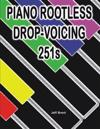 Piano Rootless Drop Voicing 251s