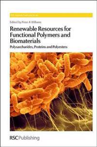 Renewable Resources for Functional Polymers and Biomaterials