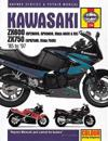Kawasaki ZX600 and 750 Fours (85-97) Service and Repair Manual