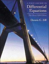First Course in Differential Equations