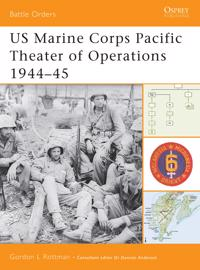 Us Marine Corps Pacific Theater Of Operations, 1944-45