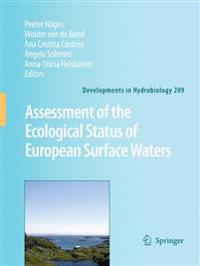 Assessment of the ecological status of European surface waters