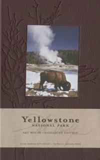 Yellowstone National Park Hardcover Ruled Journal - Large