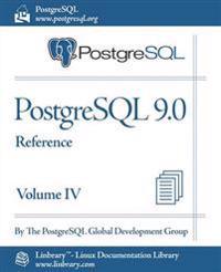 PostgreSQL 9.0 Official Documentation - Volume IV. Reference