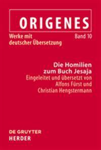 Origenes Die Homilien Zum Buch Jesaja
