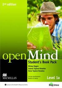 Open Mind - Level 1a - Student's Book Pack 2nd ed