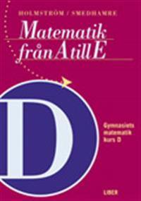 Matematik från A till E Kurs D