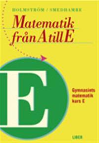Matematik från A till E Kurs E