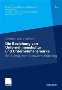 Die Beziehung Von Unternehmenskultur Und Unternehmensmarke