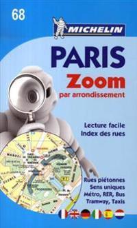 Paris Par Arrondissement - Zoomed City Plan
