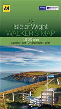 Aa Isle of Wight Walker's Map
