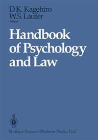 Handbook of Psychology and Law