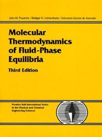 Molecular Thermodynamics of Fluid-Phase Equilibria