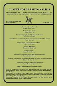 Cuadernos de Psicoanalisis, Volumen XL, Nums. 3-4, Julio-Diciembre de 2008