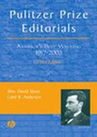 Pulitzer Prize Editorials