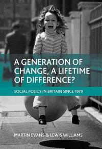 A Generation of Change, a Lifetime of Difference