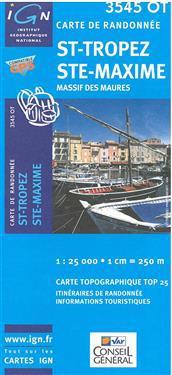 St-Tropez / Ste-Maxime / Massif des Maures