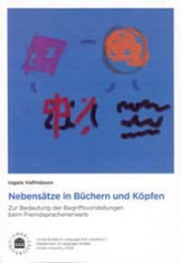 Nebensätze in Büchern und Köpfen : zur Bedeutung der Begriffsvorstellungen beim Fremdsprachenerwerb