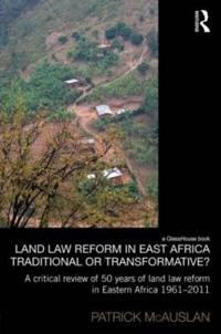 Land Law Reform in Eastern Africa