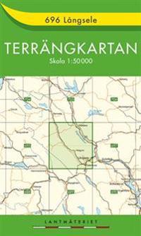 696 Långsele Terrängkartan : 1:50000