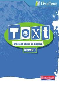 Text: Building Skills in English 11-14 LiveText 1