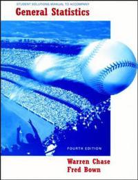 General Statistics, Student Solutions Manual