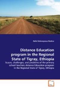 Distance Education Program in the Regional State of Tigray, Ethiopia