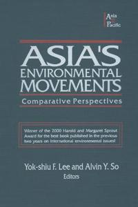 Asia's Environmental Movements in Comparative Perspective
