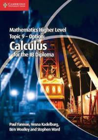 Mathematics Higher Level Topic 9 - Option
