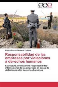 Responsabilidad de Las Empresas Por Violaciones a Derechos Humanos