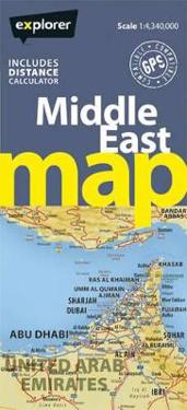 Explorer Map Middle East