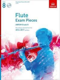 Flute Exam Pieces 2014-2017 2 CDs, ABRSM Grade 8