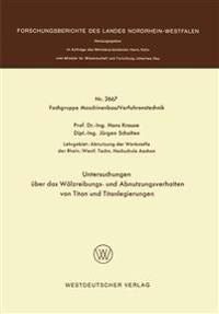 Untersuchungen Über Das Wälzreibungs- Und Abnutzungsverhalten Von Titan Und Titanlegierungen