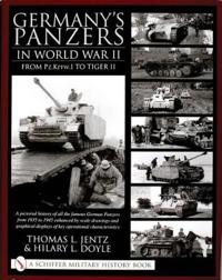 Germany's Panzers in World War II: From Pz.Kpfw.I to Tiger II