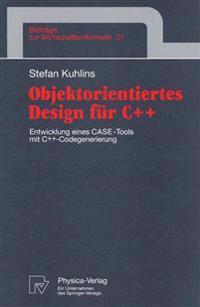 Objektorientiertes Design Für C++