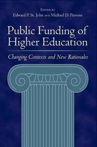 Public Funding of Higher Education