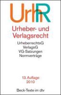 Urheber- und Verlagsrecht