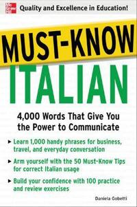 Must-Know Italian