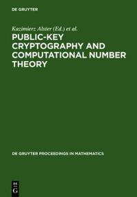 Public-Key Cryptography and Computational Number Theory