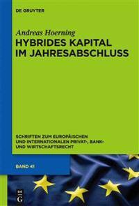 Hybrides Kapital Im Jahresabschluss