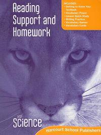 HSP Science Reading Support and Homework: grade 5