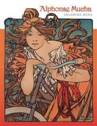 Alphonse Mucha Coloring Book