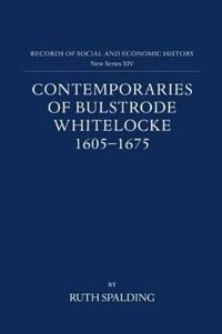 Contemporaries of Bulstrode Whitelocke