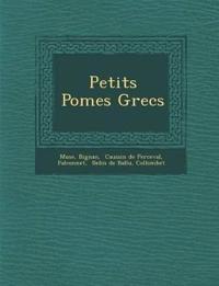 Petits Po Mes Grecs