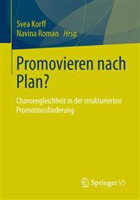 Promovieren Nach Plan?