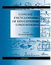 Concise Encyclopedia of Educational Linguistics