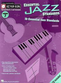 Essential Jazz Standards: 10 Essential Jazz Standards [With CD]