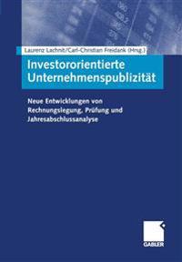 Investororientierte Unternehmenspublizität