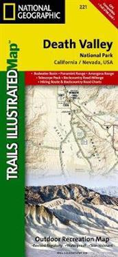 National Geographic Trails Illustrated Map Death Valley National Park