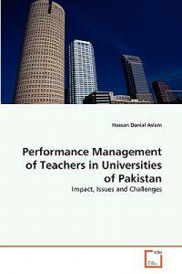 Performance Management of Teachers in Universities of Pakistan